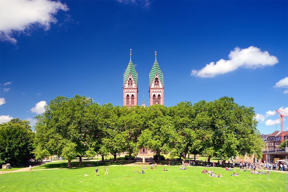 centre ville Freiburg im Breisgau