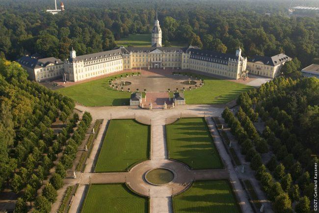 Jardin du château de Karlsruhe