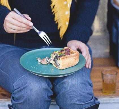recette tarte aux champignons