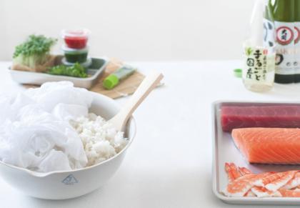 le riz à sushi