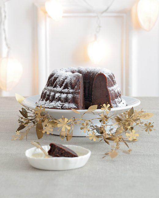 recette au chocolat - Fondant marron-chocolat