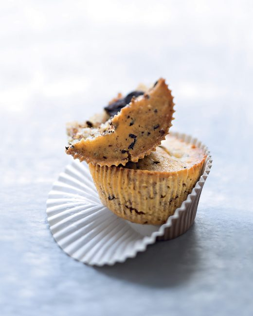 recette au chocolat - Muffins banane-chocolat - saveurs n°166