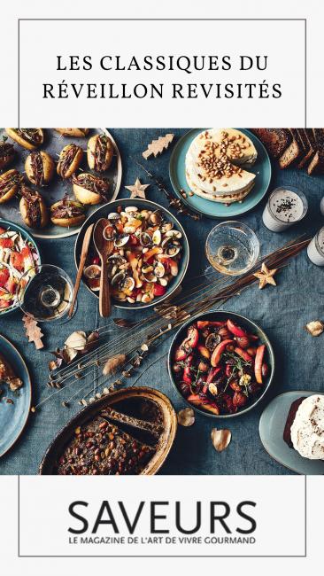Les recettes de Noël dans Saveurs spécial fêtes