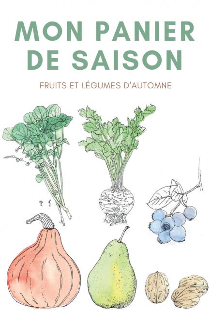 fruits et légumes de saison : qu'est-ce qu'on met dans notre panier en automne ?