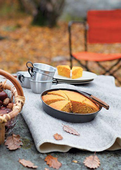 recette de carrot cake aux noisettes
