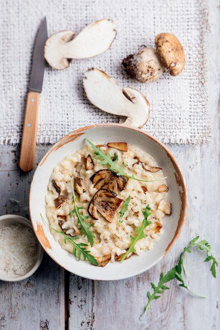 recette de risotto aux cèpes