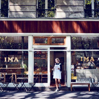 le restaurant végétarien Ima à Paris
