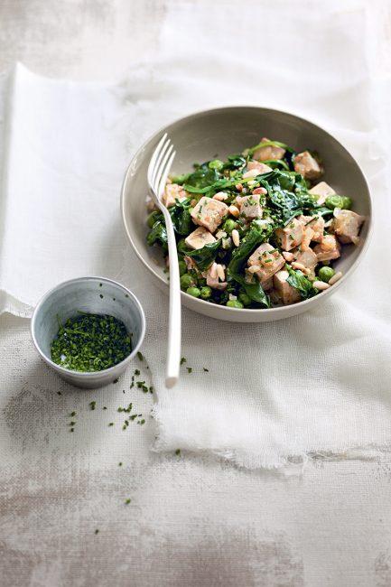 recette végétarienne tofu