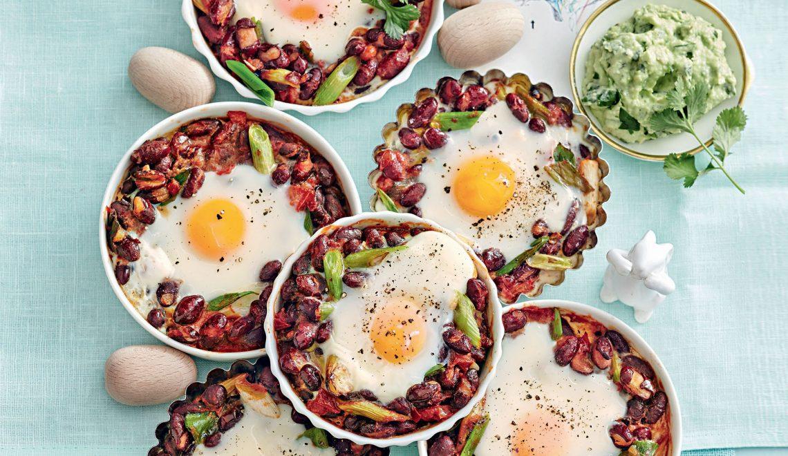 recette œufs cocotte au chili