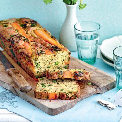 recette cake aux légumes