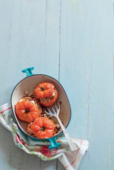 recette tomate farcie végétarienne