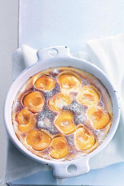 recette de clafoutis aux abricots