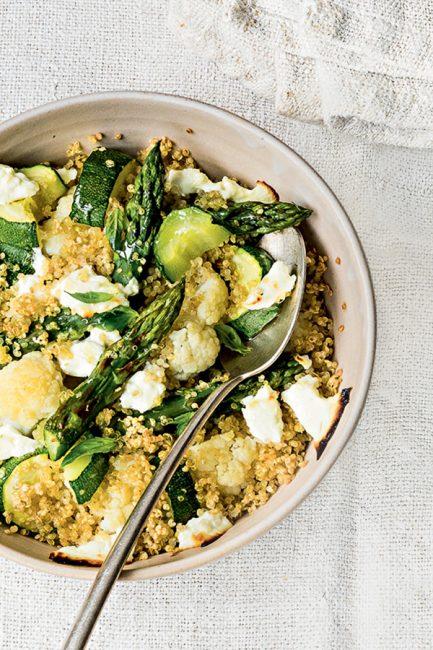 recette de légumes au quinoa