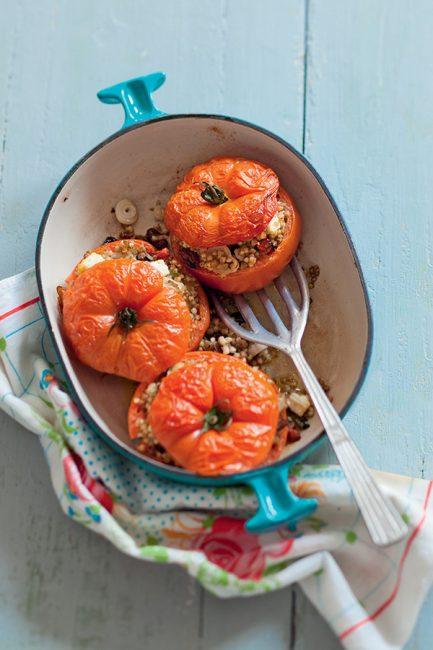 Recette de tomates farcies végétariennes
