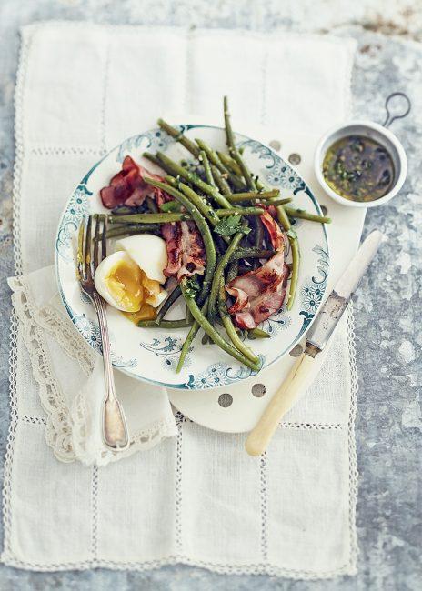 recette de salade composée aux haricots verts