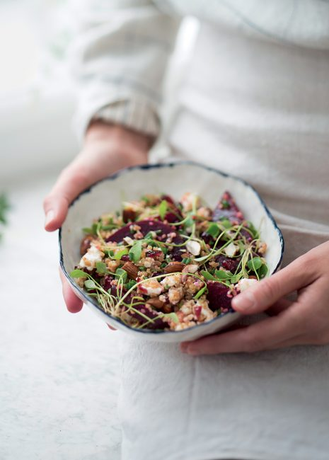 recette de salade composée à la betterave