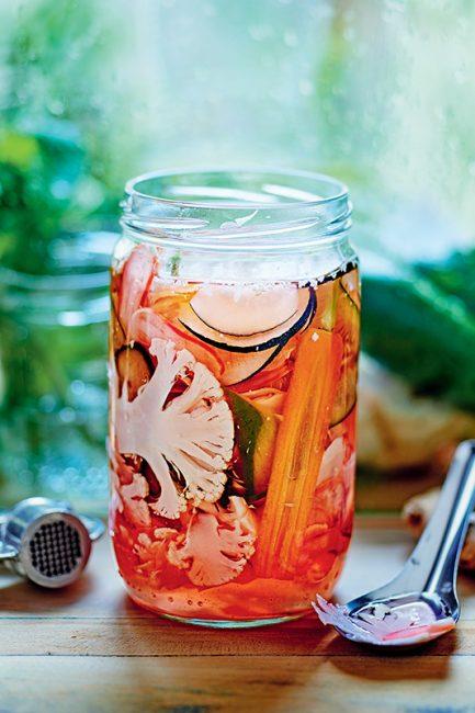 recette de marinade pour pickles