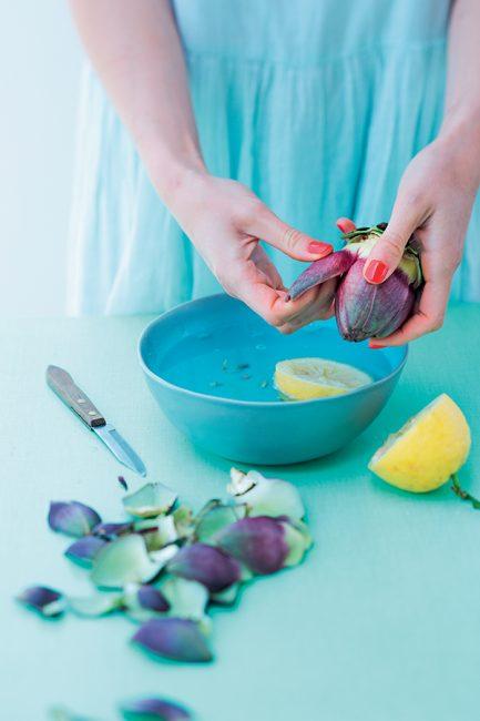 recette artichaut poivrade