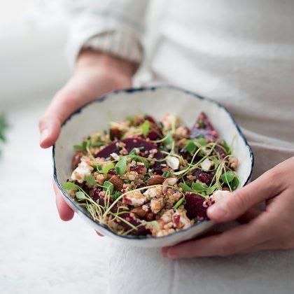 comment préparer une salade composée