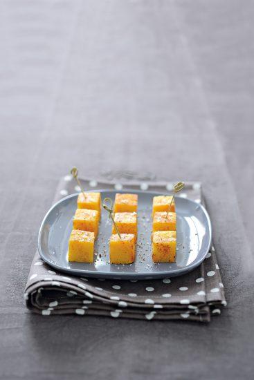 Carres-de-polenta