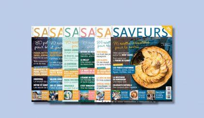 saveurs magazine