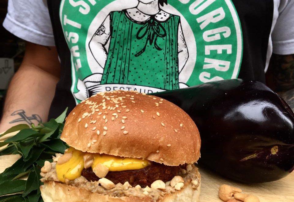 east side burgers vegan