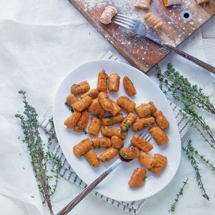recette de gnocchis de patate douce