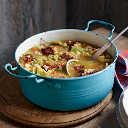 recette de chou kale en cocotte