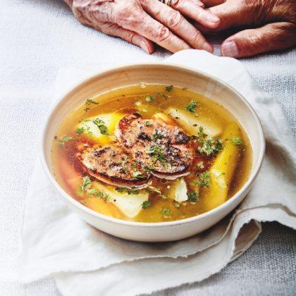 recette de bouillon de légumes