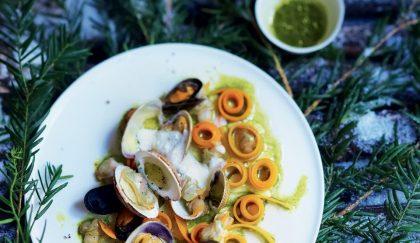 recette coquillages et crustacés