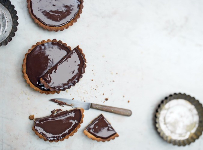 recette tartelettes au chocolat