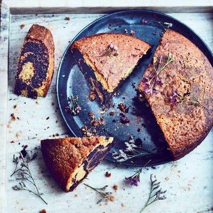 recette gâteau marbré chocolat