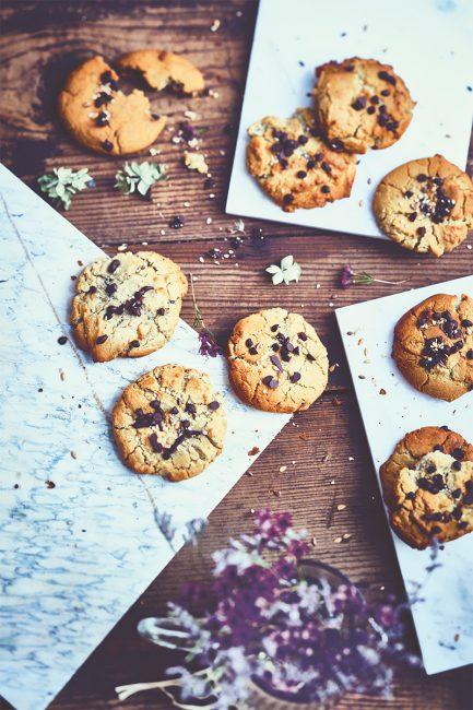 la recette des cookies sans gluten