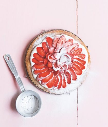 tarte fraise gariguette