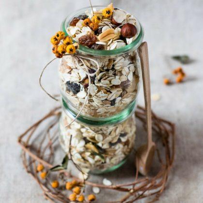 Granola vegan aux fruits secs recette