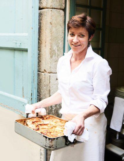 Lasagnes vegan aux lentilles vertes du Puy et légumes