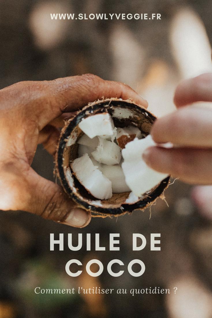 huile de coco : un indispensable santé et beauté