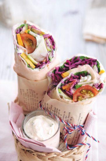 recette de wraps vegan