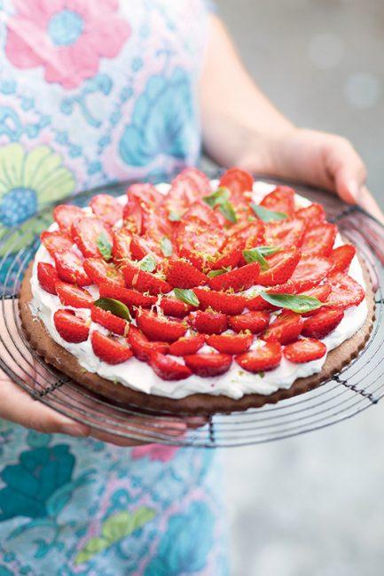 recette tarte aux fraises mara des bois
