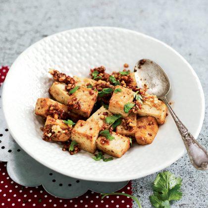 recette végane de tofu laqué