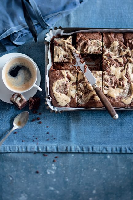 brownies marbré au philadelphia