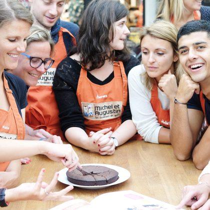 La recette du gâteau au chocolat express