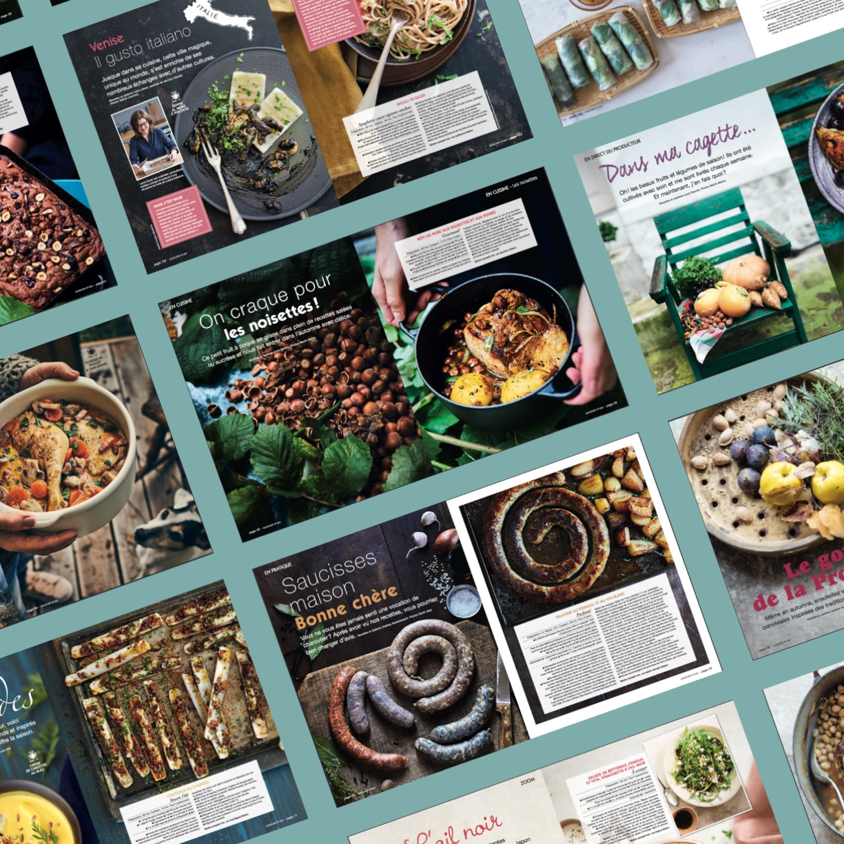 saveurs 250 pages