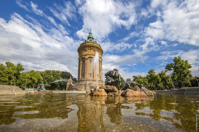 château d'eau de Mannheim