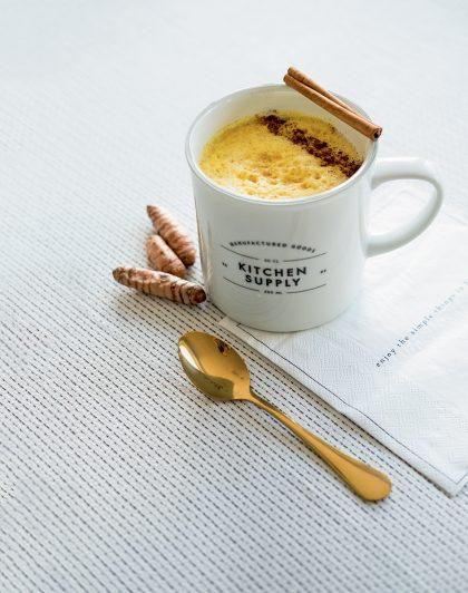 recette de golden latte ou lait d'or