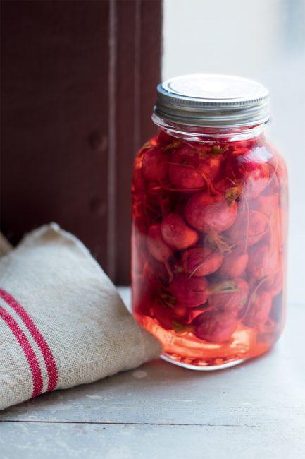recette de fermentation de pickles de radis