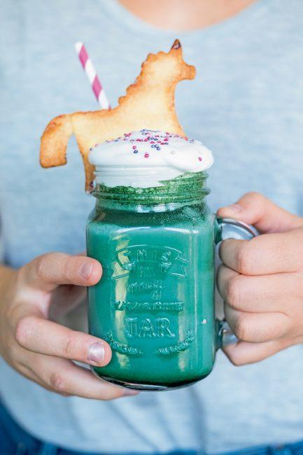 recette facile unicorn latte