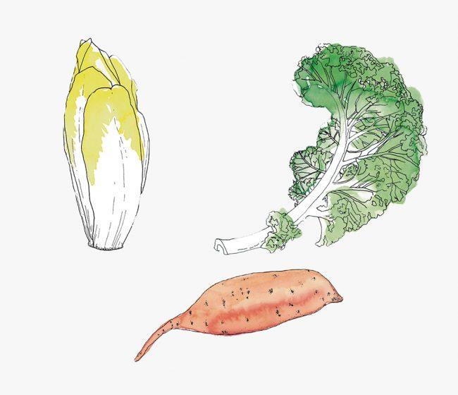 fruits et légumes de saison pour l'hiver