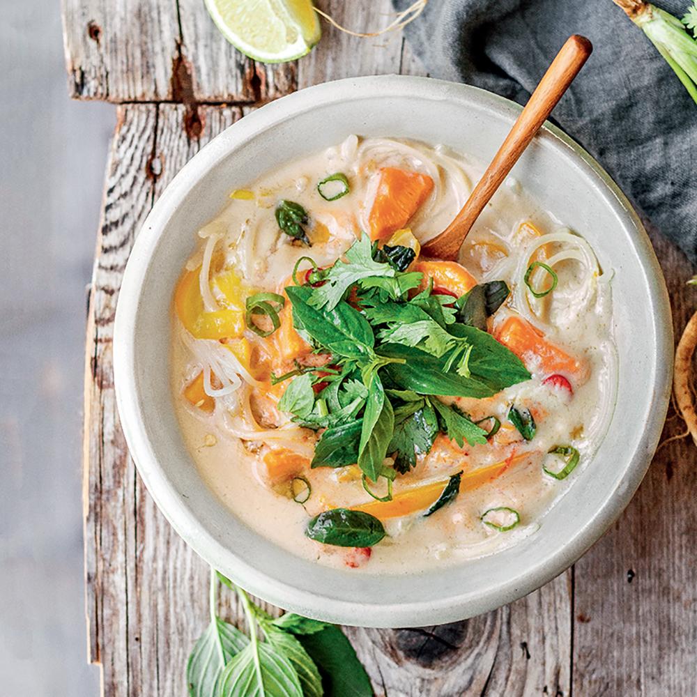 Soupe thaï : une recette épicée pour se réchauffer