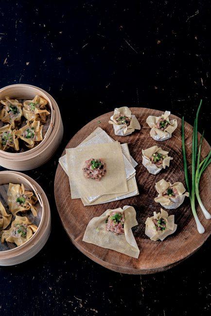 recette de bouchées au porc pour le nouvel an chinois